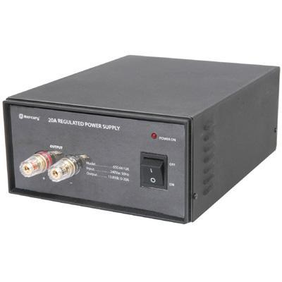 Switch-mode 20A 13.8V bench top power supply