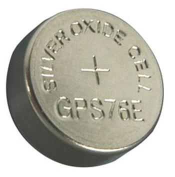 Silver Oxide Button Cells