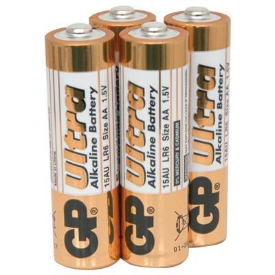 Super Alkaline 4 x AA 1.5v Batteries