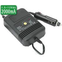 Regulated DC/DC Car Adaptor 1.5 - 12vDC 2000mA