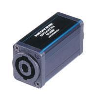 Neutrik® 4-pin Speakon In-line Coupler NL4MMX