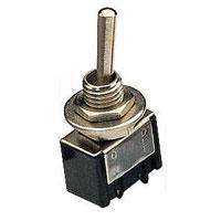 Miniature Toggle Switch 1 x On/Off 250Vac 3A