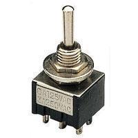 Miniature Toggle Switch 2 x On/On 250Vac 3A