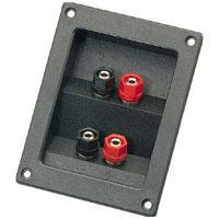 4 Way Square Terminal Plate Binding Post