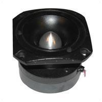 4'' x 4'' Pro Tweeter 1'' Dome With Reflector Port