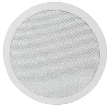 Adastra 2-Way 8' Ceiling Speaker 100v (up to 50W) & 8 Ohm (60W)