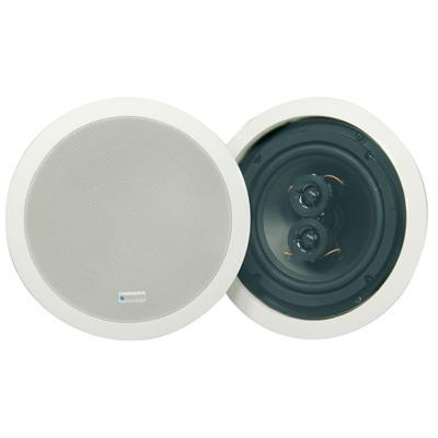"Adastra Ceiling Speaker With Dual Tweeter 75WRMS - 6.5"" - Single"