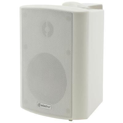 "100V Wall Mount 2-Way Speaker 4"" - 2.5W, 5W, 10W, 20W And 8 Ohm"