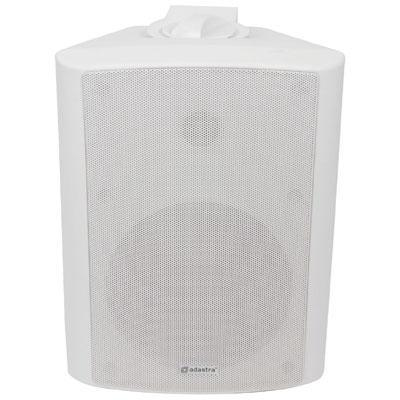 "Adastra 100V 6.5"" Background Speakers - White"