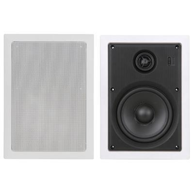 100W In-Wall Speaker With Directional Tweeter - 6.25''