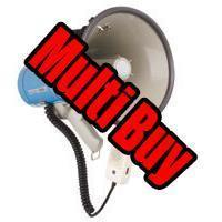 <b>Multi Buy: 10 x</b> 25W Megaphone With Siren <b>Fire Service Approved</b>