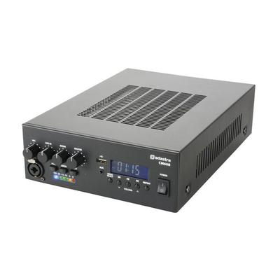 Compact 60W PA Amplifier 100V Or 8 Ohm USB SD Player