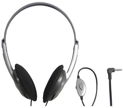 Stereo Headphone with In-Line Volume Control