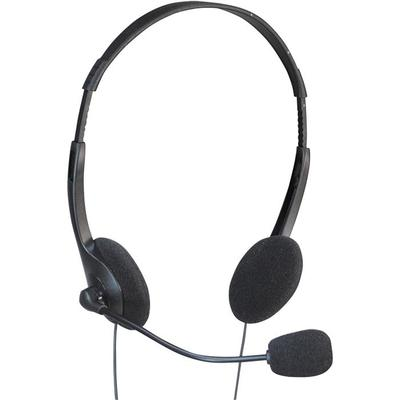 Multimedia Headset With Boom Mocrophone