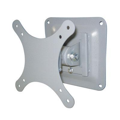 Silver Universal LCD Wall Mount Bracket For Screens Up To 24'