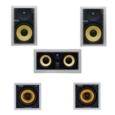 APart High Quality In-Wall/Ceiling Cinema Speaker Package