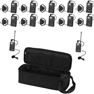 ATS-20SET UHF Tour Guide System with Charging Case