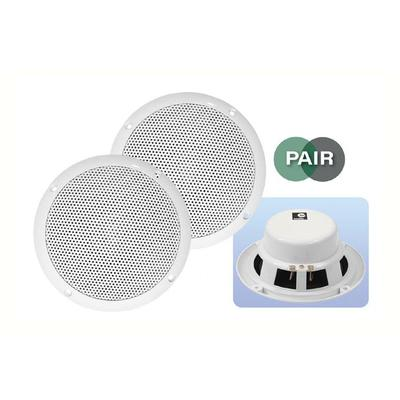 "E-Audio 5"" 80W Moisture Resistant Ceiling Speakers (Pair)"