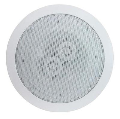 White 6.5'' Dual 2-Way Ceiling Speaker (8 Ohms 120 W)