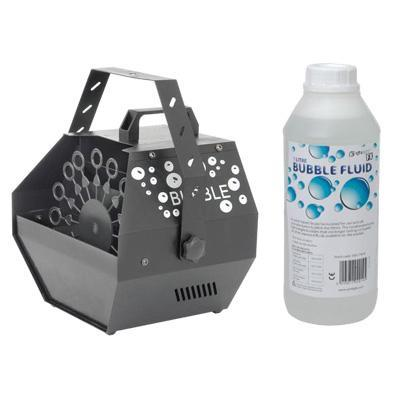 B2 Bubble Machine with 1L Bubble Fluid