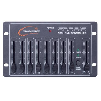 Transcension SDC 816 16-Channel DMX Controller