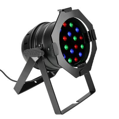 Professional PAR 56 DMX 18 x 1W LED RGB Par Can