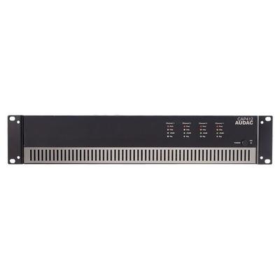 Audac CAP412 Quad Channel Power Amplifier 4 x 120W 100V Line