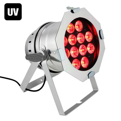 Cameo PAR 64 RGBWA + UV 12 x 10W LED Can