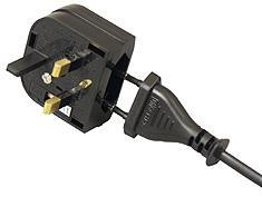CEE7 Europlug to  UK Converter