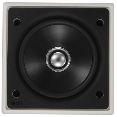 "Kef Ci100QS Square 4"" Ceiling Speaker 50W - Single or Pair"