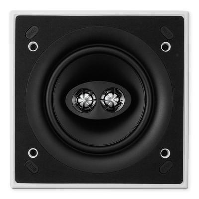 "Kef Ci160CSds Square 6.5"" Stereo Ceiling Speaker 80W - Single"