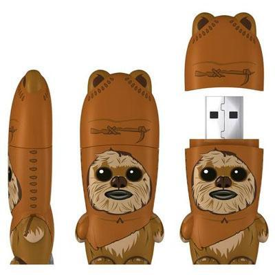 mimobot usb stick star wars wicket. Black Bedroom Furniture Sets. Home Design Ideas