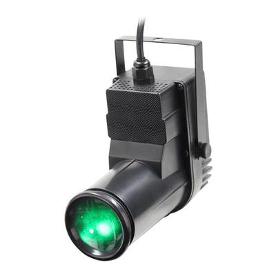 12W Quad-Colour Pinspot (Black Housing)