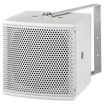 ESP-305 Minature 100V Line Wall Mount Speaker - White