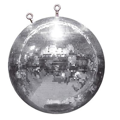 Professional 60CM Silver Mirror Ball With Fibreglass Core