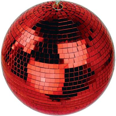 30CM Red Mirror Ball