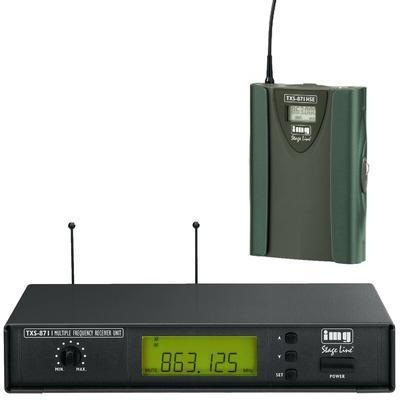 IMG Stageline TXS-871 UHF Wireless System with Body Pack Transmitter