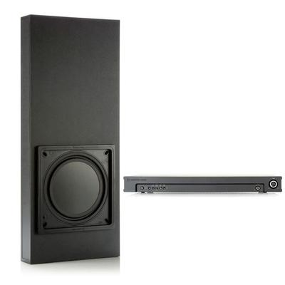 Monitor Audio IWS-10 In-Wall Subwoofer with Back Box and Amplifier