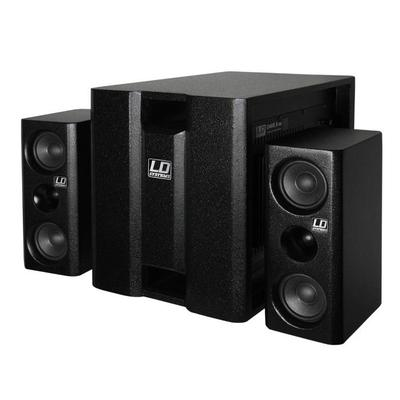 LD Systems Dave 8XS Compact Multimedia PA System 350W - Black