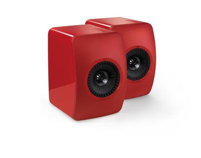 KEF LS50 - Racing Red