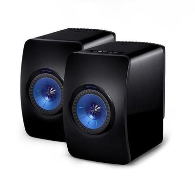 KEF LS50 Wireless Bookshelf Speakers - Pair