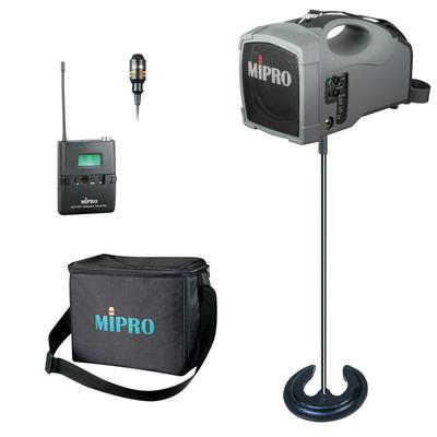 Wireless 30W Mipro + Tie-Clip Mic, Stand and Case - <b>CYBERMARKET MEGADEAL!</b>