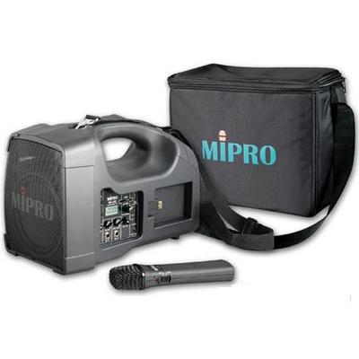MiPro MA-202B 40W Portable PA System with Handheld Mic & Case