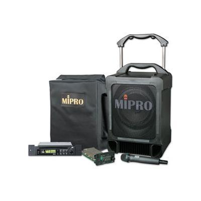 MiPro MA-707 70w Wireless PA Amp With Anti-Shock CD Player & 1 x  Receiver & Hand Held Mic.