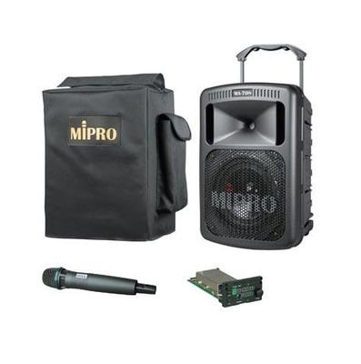 MiPro MA-708 with Receiver, Wireless Hand Held Microphone & Case