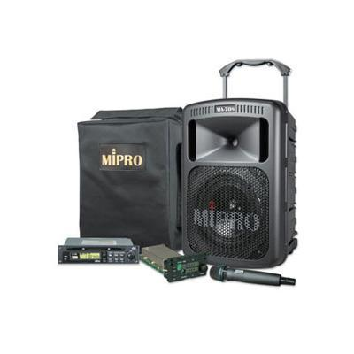 MiPro MA-708 Portable PA 100W with CD & Wireless Handheld Microphone