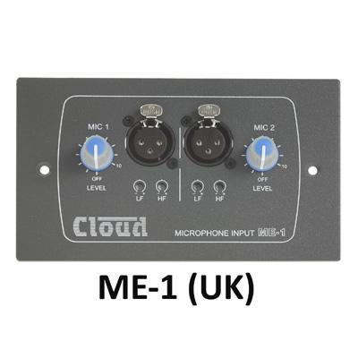 Cloud Electronics ME-1 Microphone Input Wall Panel