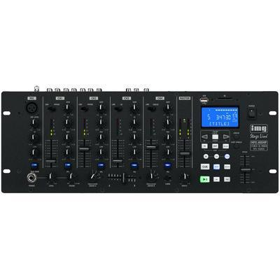 IMG Stageline MPX-40DMP 4-Channel Stereo DJ Mixer USB/SD