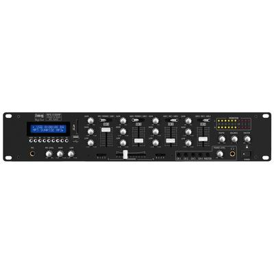IMG Stageline MPX-410DMP 4-Channel DJ Mixer With SD/USB And Bluetooth