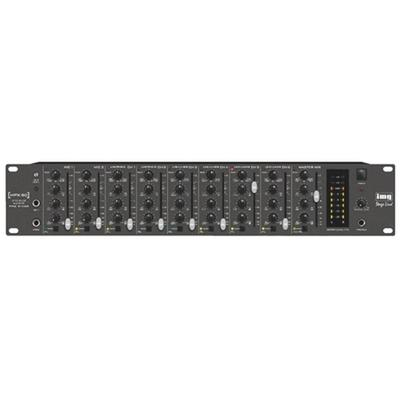 8-Channel Stereo Audio Mixer